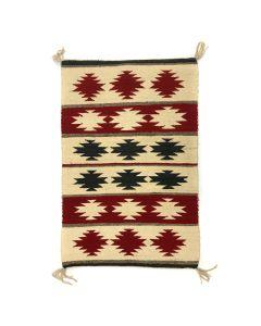 """Navajo Ganado Rug c. 1930s, 42"""" x 27"""" (T3774)"""
