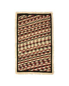 """Navajo Ganado Rug c. 1920-30s, 60.5"""" x 37.5"""" (T3832)"""