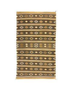 """Large Navajo Chinle Rug c. 1940s, 118"""" x 72"""" (T5016)"""