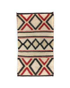 """Navajo Ganado Rug, c. 1940s, 56"""" x 33"""""""