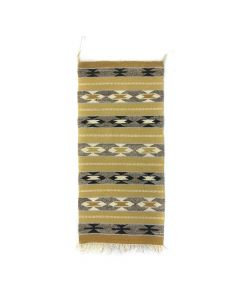 "Navajo Gallup Throw c. 1960-70s, 40"" x 19"""