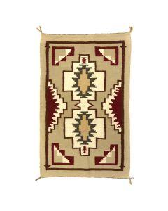 """Navajo Klagetoh Rug c. 1960s, 40"""" x 25.5"""""""