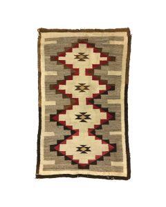 """Navajo Ganado Rug c. 1920-30s, 67"""" x 42"""" (T5241)"""