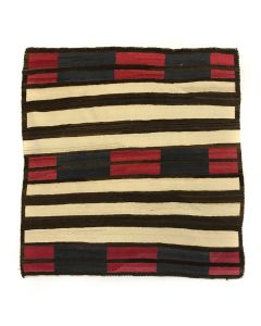 """Navajo Second Phase Chief's Blanket c. 1900s, 49.5"""" x 49"""" (T5242)"""