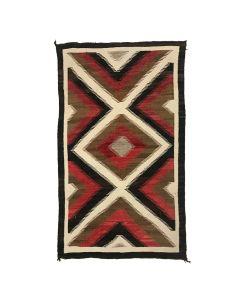 """Navajo Ganado Rug c. 1930s, 65.5"""" x 35.5"""" (T5252)"""