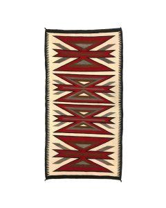 """Navajo Crystal Rug c. 1920-30s, 71"""" x 36.5"""""""