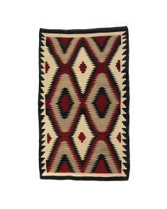 """Navajo Ganado Rug c. 1930s, 68.5"""" x 42"""" (T5267)"""