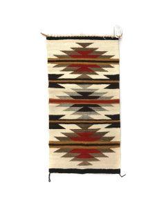 "Faye Peterson - Navajo Gallup Throw c. 2010s, 36.5"" x 19.5"""