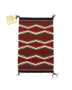 "Navajo Chinle Rug c. 1980s, 24"" x 15.5"" (T5298)"