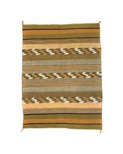 "Navajo Chinle Rug c. 1960s, 58"" x 38"""