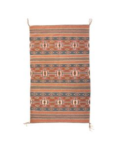 "Mary Ann Begay - Navajo Chinle Rug c. 1996, 55.5"" x 35"""