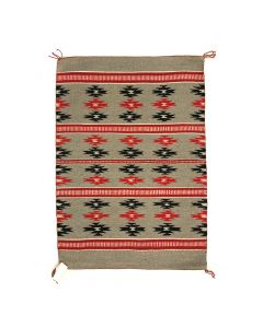 "Elisabeth Chee - Navajo Chinle Rug c. 1980s, 35"" x 24.5"" (T5324)"