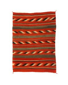 "Navajo Transitional Blanket c. 1890s, 67.5"" x 51.5"" (T5336)"