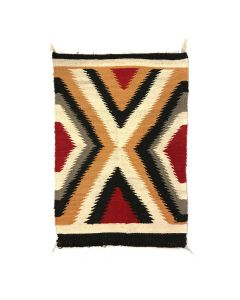 """Navajo Ganado Rug c. 1960s, 39"""" x 25.5"""" (T5347)"""
