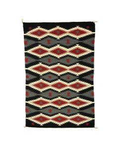 """Navajo Ganado Rug c. 1970s, 55"""" x 36"""" (T5358)"""
