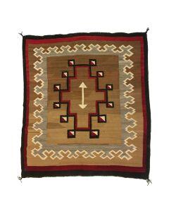 "Navajo Klagetoh Rug c. 1910s, 57.5"" x 54"" (T5363)"