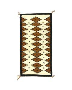 """Navajo Crystal Rug c. 1950s, 61.5"""" x 30.5"""" (T5365)"""