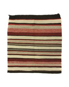 "Navajo Single Saddle Blanket c. 1940s, 36"" x 33"" (T5405)"