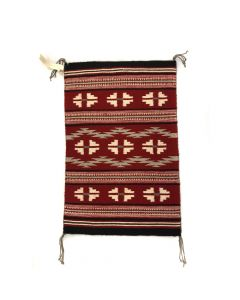 "Betty Yazzie - Navajo Ganado Rug c. 1990s, 28.75"" x 18.75"" (T5434)"