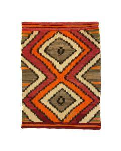 "Navajo Transitional Blanket c. 1890s, 62.5"" x 46.5"" (T5436)"