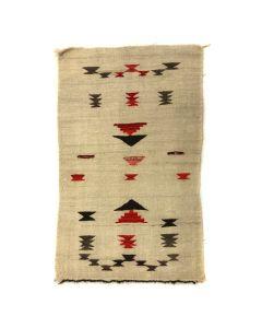 """Navajo Sampler Blanket c. 1900s, 43.5"""" x 26"""" (T5452)"""