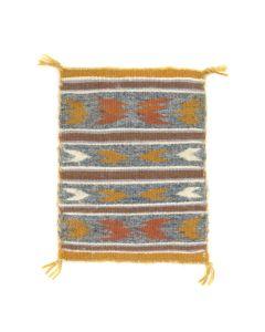 "Miniature Navajo Chinle Rug c. 1977-1983, 6.25"" x 5.75"" (T5460)"