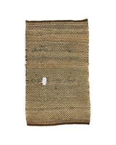 "Navajo Double Saddle Twill Weave Blanket c. 1900s, 53.5"" x 33"" (T5503)"