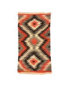 "Lot 316 - Navajo Transitional Blanket c. 1890s, 81"" x 39.5"" (T5533)"