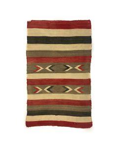 "Navajo Banded Blanket c. 1920s, 61.5"" x 41.5"" (T5541)"