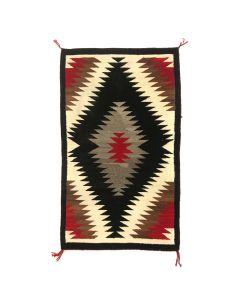 """Navajo Ganado Rug c. 1930s, 57"""" x 33.5"""" (T5556)"""