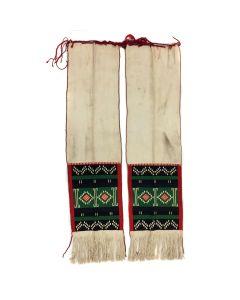 "Pair of Hopi Dance Sashes c. 1920s, 44.5"" x 11.25"" each (T5614)"