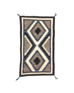 """Navajo Nazlini Rug c. 1930s, 62"""" x 37.5"""" (T5634)"""