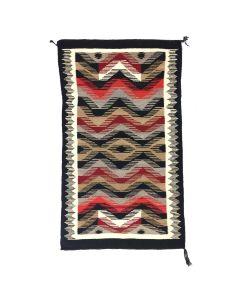 """Navajo Ganado Rug c. 1940-50s, 58"""" x 35.5"""" (T5637)"""