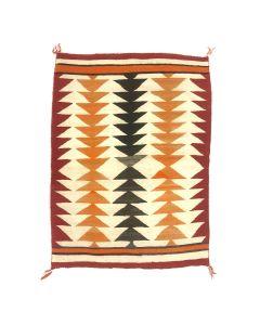 """Navajo Ganado Rug c. 1900s, 59"""" x 45"""" (T5638)"""