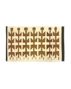 """Navajo Dalutso Pictorial Rug c. 1940s, 36"""" x 57.5"""" (T5685)"""
