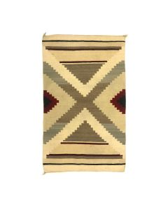 """Navajo Ganado Rug c. 1920s, 51"""" x 32"""" (T5687)"""