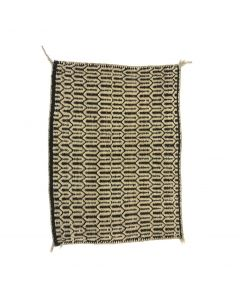 "Navajo Twill Weave Saddle Blanket c. 1920s, 35.5"" x 26.5"" (T5709)"
