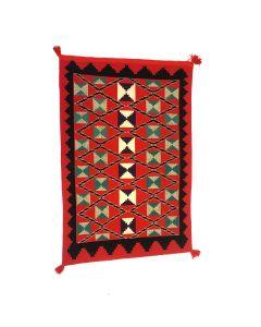 """Navajo Germantown Blanket c. 1890s, 65.75"""" x 44"""" (T5718-CO)"""