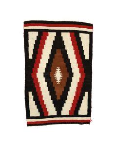 """Navajo Ganado Rug c. 1910-20s, 57"""" x 36.5"""" (T5738)"""