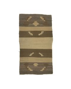 "Navajo Chinle Rug c. 1940s, 44.5"" x 25"" (T5743)"