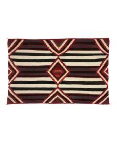 "Navajo Third Phase Chief's Blanket c. 1900s, 83.5"" x 54"" (T5747)"