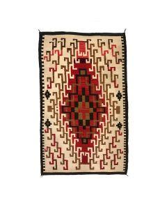 "Navajo Klagetoh Rug c. 1910-20s, 96.5"" x 63.5"" (T5757)"