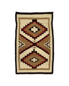 """Navajo Ganado Rug c. 1910s, 69"""" x 42"""" (T5758)"""