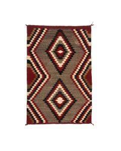 "Navajo Red Mesa Rug c. 1930s, 53.75"" x 33.25"" (T5761)"