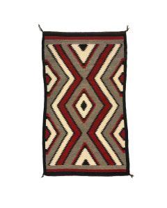"""Navajo Ganado Rug c. 1930s, 62.25"""" x 39"""" (T5762)"""
