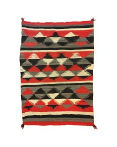 "Navajo Transitional Blanket, circa 1890s, 76"" x 56"""