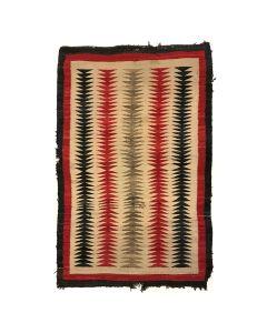 """Navajo Ganado Rug c. 1930s, 54"""" x 35"""" (T90253B-0220-008)"""