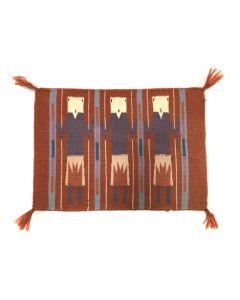 "Navajo Yei Pictorial Rug c. 1980s, 14.75"" x 21"" (T90253B-0320-004)"