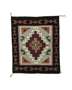 "Navajo Teec Nos Pos Rug c. 1980s, 41"" x 34"" (T90253B-0320-005)"