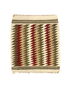 """Navajo Ganado Rug c. 1950s, 33.25"""" x 28"""" (T90253B-0721-004)"""